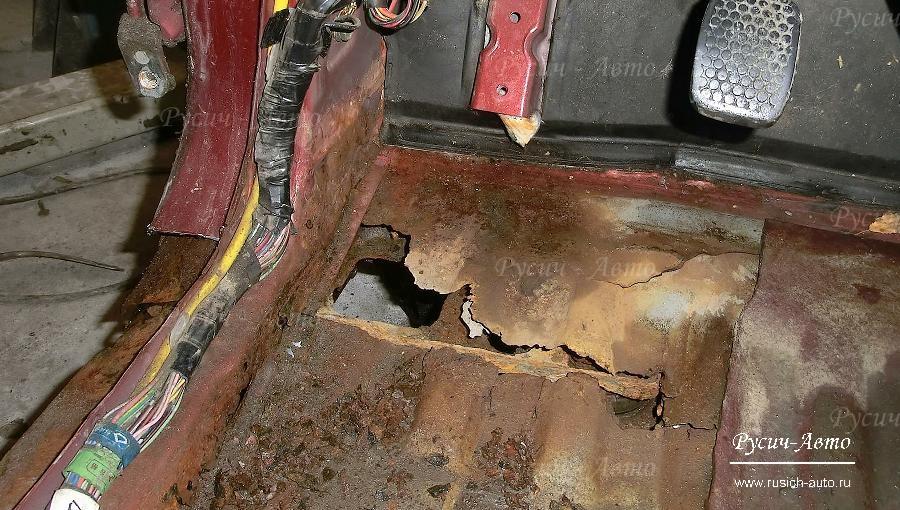 Ремонт порогов кузова автомобиля своими руками 394